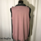 E-Design multifunktionel top/vest rosa/brun