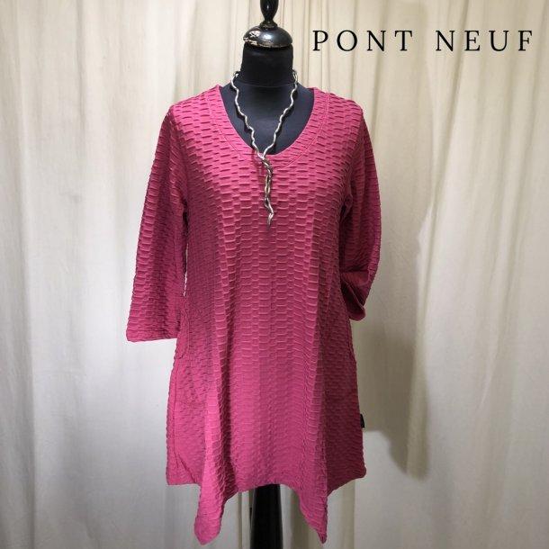 Pont Neuf tunika med lommer pink