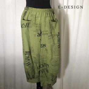 2ef48353f73 E-Design Jersey design buks sort - Bukser - Stine & Ko