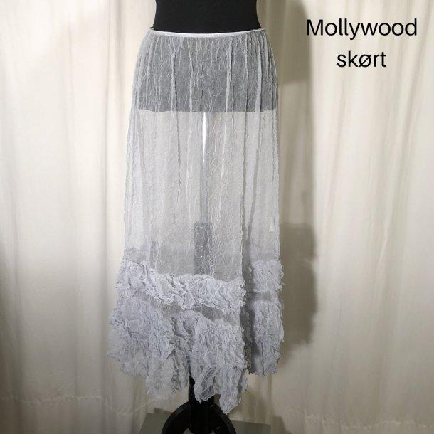 Mollywood skørt silvergrey