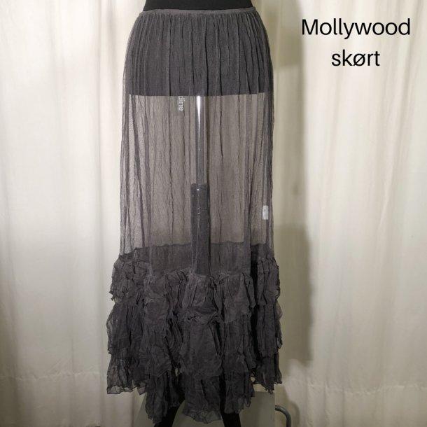 Mollywood skørt antrazit