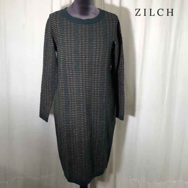 Zilch strik kjole med blankt mønster