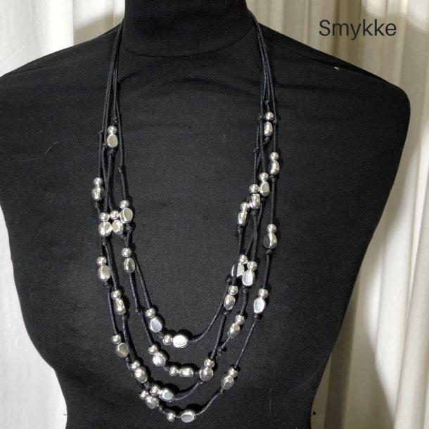 Design smykke perle symfoni sølv/sort