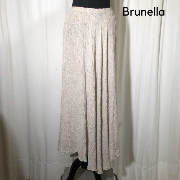 Brunella hør nederdel hørfarvet